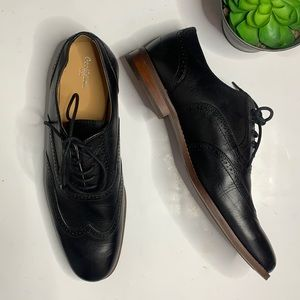 GOODFELLOW Men's Black Lace-up Loafers SZ 10.5